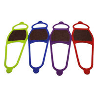 1X Anti Dérapant Chaussure Griffes De La Glace Crampons Crampons À Neige Pinc FE