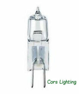 Lot of 12 Light Bulbs 100 Watt G6.35 JC12V100WH20-12V 100W GY6.35 T3-1/2