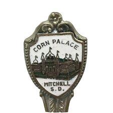 Corn Palace Mitchell South Dakota Enco Inc Collectors Souvenir Spoon Vintage