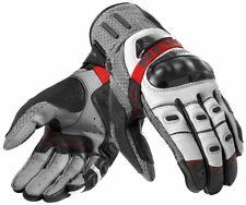 Motorrad Handschuhe Revit Cayenne Pro Gloves grau/rot Gr. M