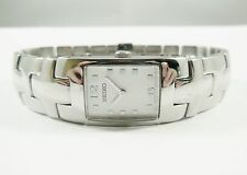 Seiko SUJ483 Silver Tone Stainless Steel 1N00-0FY8 Sample Watch NON-WORKING