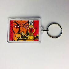 LION-O EYE OF THUNDERA Vintage Thundercats Comic Poster Key Ring Chain Keyring