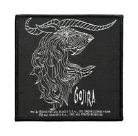 Gojira Woven Sew On Patch - Horns Battle Jacket Patch #82