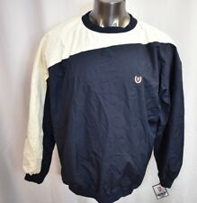 Chaps Ralph Lauren Mens Mesh Lined Pullover Windbreaker Jacket NWT L
