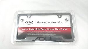 Kia Soul Chrome License Plate Frame UR010-AY100UL OEM 50 State Certified!