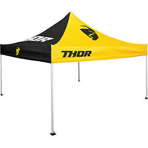Thor Collapsible Track Canopy Top Black/Yellow