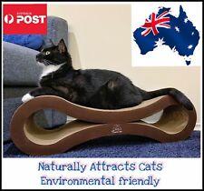 AU Stock/ Cat Scratcher Lounge Corrugated Cardboard Cat Scratching Post Sofa Bed