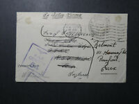 Great Britain 1943 Forces in W Africa Cover / RAF Censor / Freetwon - Z12295