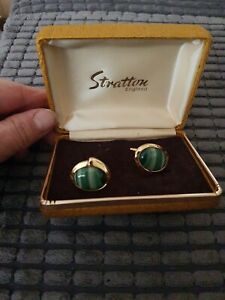 Vintage stratton cufflinks