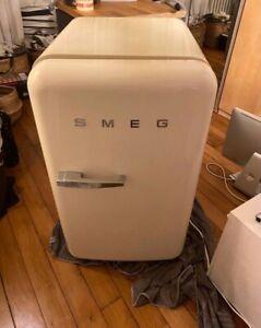 refrigerateur smeg fab10 creme
