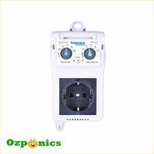 SuperPro Speed-b1 Fan Speed Controller Hydroponics Grow Room Ventilation