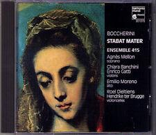 BOCCHERINI Stabat Mater Quintet 328 ANGES MELLON CHIARA BANCHINI ENSEMBLE 415 CD