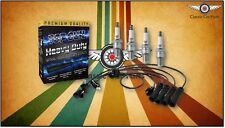 TopGun Ignition Leads + NGK Spark Plugs Pack suits Toyota Hilux 22R '92 Onward