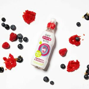 Multi Vitamin Kids Drink Raspberry & Blueberry 12x330ml by Get More Vits