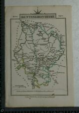 Art Kimbolton St Neots 1793 Europe Maps Helpful Antique County Map Of Huntingdonshire By John Cary