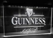 Guinness Neon Light Sign Bar Pub Man Cave