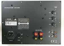 Monacor SAM-300D Aktive Subwoofer Modul. New Stock. 32.0790.
