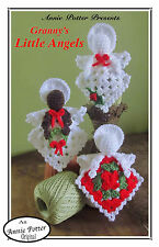 "Crochet granny square doll pattern ""Granny's Angels"" Annie Potter"
