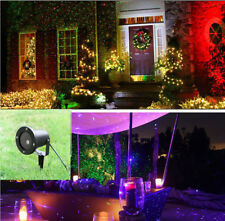 Outdoor  Waterproof Christmas Lights Elf  Projector Red Green