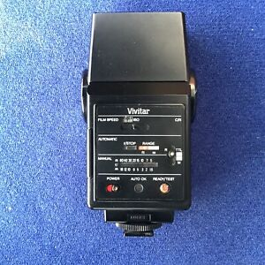 Vintage Vivitar AUTO THYRISTOR 550 FD C/R Specific Dedicated Function Flash