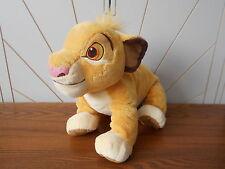 NALA LION CUB grandes Peluche Juguete Suave Beanie LION KING Disney Store Exclusivo THE