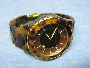 Women's MICHAEL KORS Water Resistant Watch MK5298 w/ New Battery