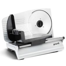 NEW Pronti Electric Meat Slicer Deli Cafe Home Slicing Cheese Bread Food Slice