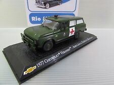 Brazilian Chevrolet Collection - Chevrolet Veraneio Brazilian Army Ambulance