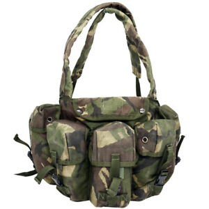 CHEST RIG DPM Tactical Vest British Army Pouches Webbing Woodland Surplus GII