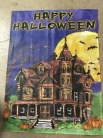 Haunted House Decorative House Flag