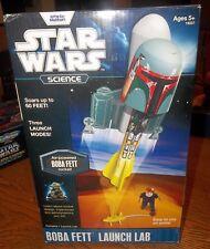Star Wars Science Boba Fett Rocket - Air Powered Factory Sealed  *NEW*