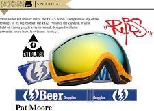 NEW Electric EG2.5 Pat Moore Pro Beer mens ski snowboard goggles 2013 Ret$180