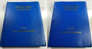 US/Philippine Coinage Collectors Albums ~ Volume 2 & 3 ~ 1/2c to Pesos & Commems