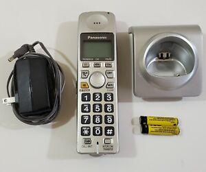 Panasonic KX-TGA101S DECT 6.0 Cordless Handset with Charging Cradle