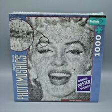 Marilyn Monroe Puzzle Photomosaics by Robert Silvers 1000 Piece New