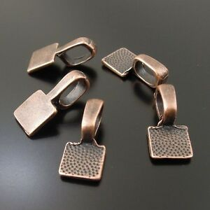 Multi-style Vintage Alloy Glue On Bail Alloy Charm Jewelry Making Hot Selling