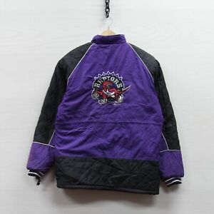 Vintage 1994 Toronto Raptors Puffer Jacket Youth Size Large 90s NBA Insulated
