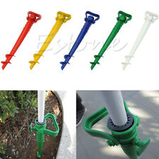 Ground Spike In Garden Patio Umbrella Stands Ebay