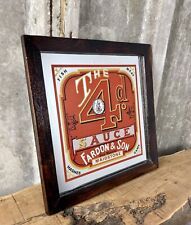 More details for stunning vintage the 4d sauce mirror food collectibles advertising food kitchen