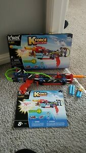 K'Nex K-20X K Force Build and Blast set - buildable gun with box