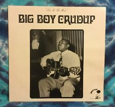 Arthur Crudup LP Big Boy I'M IN THE MOOD Krazy Kat KK-7416 Import UK 1983 Press