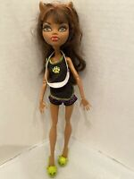 MONSTER HIGH SLEEPOVER CLAWDEEN WOLF Doll