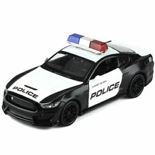 1:32 Ford Mustang Shelby GT350 Police Model Car Diecast Gift Toy Vehicle Kids