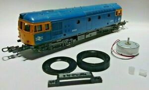 Lima Bo Bo Ringfield Motor Repair / Upgrade Kit. 12V CD motor, adaptor and gears