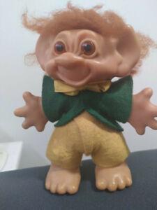 Vintage Troll Doll, boy 1960's. Made in NZ