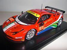 Fujimi TrueScale FJM1443004 Ferrari 458 Italia GTE #61, 2013 Le Mans, Resin 1/43
