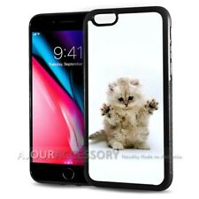 ( For iPhone 4 / 4S ) Back Case Cover AJ10050 Cute Pussy Cat