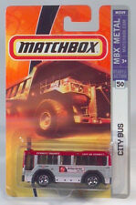Matchbox MBX Metal Ready for Action 50 - City of Everett, WA Transit Bus M5329