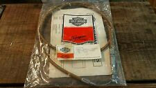 "Harley Throttle Cable 48"" Bronze Braided 76-80 Ironhead Sportster Shovelhead AMF"
