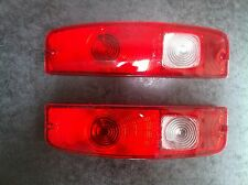 67-72 FORD F100 PARTS TAIL LIGHT LENSES PAIR L+R FOR TUB